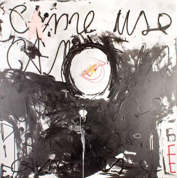 Came use, technique mixte, 119 cm x 119 cm, 2012